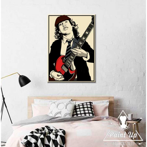 AC/DC постер art