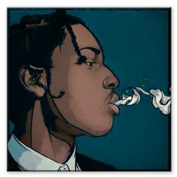 Asap Rocky smoke
