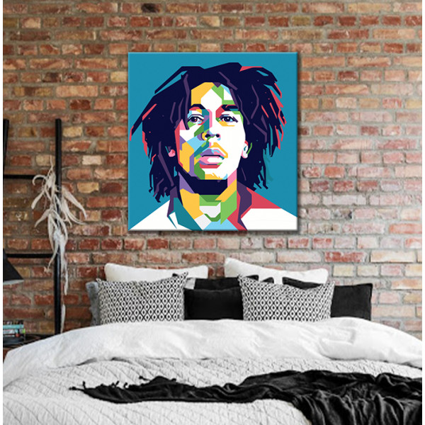 Bob Marley арт