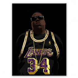 Lakers biggie smalls