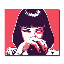 Pulp Fiction art pop