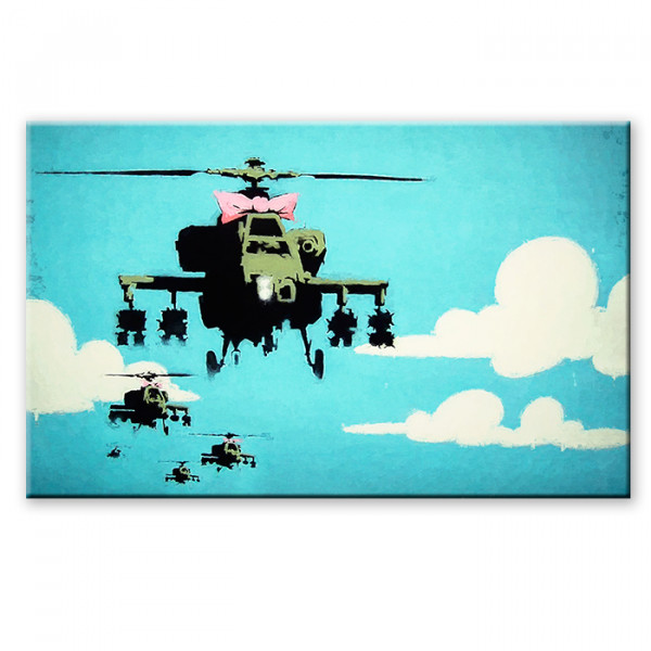 Бэнкси вертолет