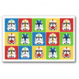 Star wars pop-art